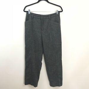 Anthropologie Cartonnier Tweed Trouser Size 4 Grey